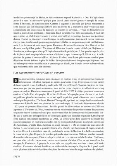 Page 8 Une femme de Shôwa