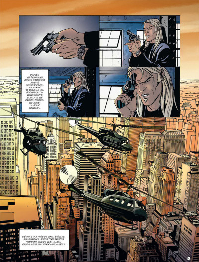Page 4 Empire USA intégrale tome 1