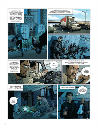 Page 5 Empire USA intégrale tome 1