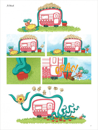 Page 2 Couette tome 3 - adopte-moi !