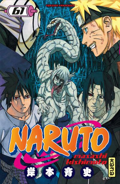 Couverture Naruto tome 61