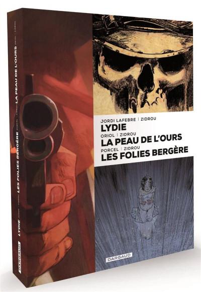 image de Coffret Zidrou (Lydie, La Peau De L'Ours, Folies Bergère)
