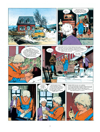 Page 7 Intégrale XIII - tome 1