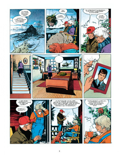 Page 8 Intégrale XIII - tome 1