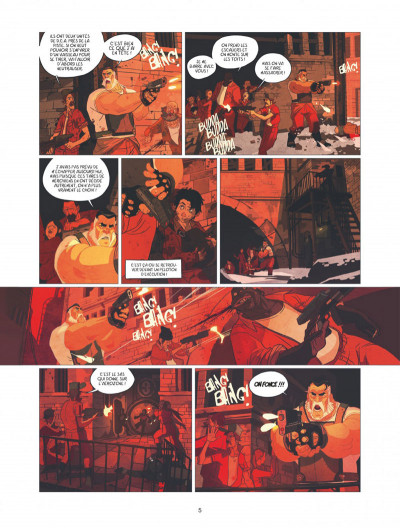 Page 5 Warship Jolly Roger tome 1