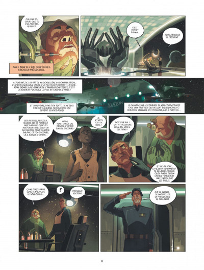 Page 8 Warship Jolly Roger tome 1