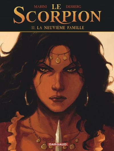 Couverture Le scorpion tome 11 - La neuvième famille