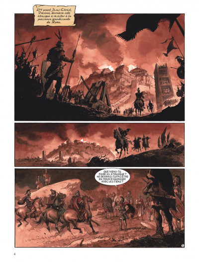 Page 4 Le scorpion tome 11 - La neuvième famille