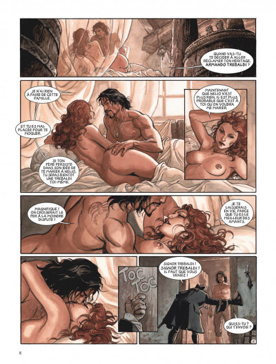 Page 8 Le scorpion tome 11 - La neuvième famille
