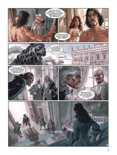 Page 9 Le scorpion tome 11 - La neuvième famille