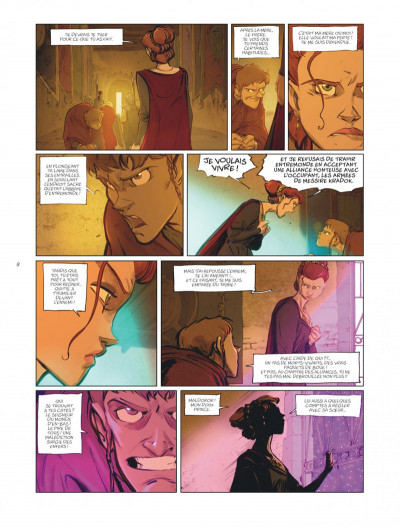 Page 8 Sortilèges tome 4