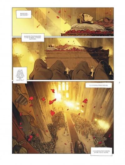 Page 3 sortilèges tome 3 - cycle 2 livre 1