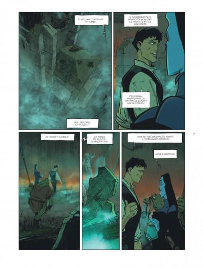 Page 7 sortilèges tome 3 - cycle 2 livre 1