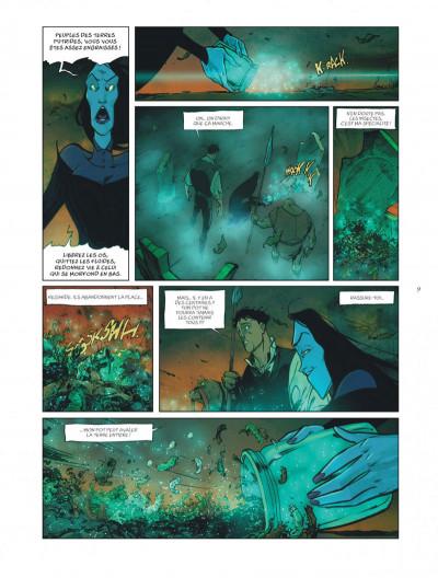 Page 9 sortilèges tome 3 - cycle 2 livre 1