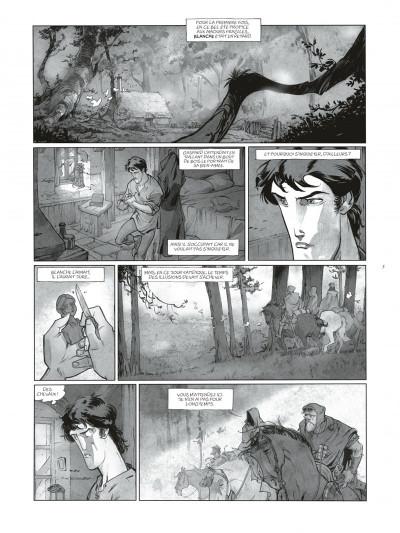 Page 5 Sortilèges Tomes 1 et 2 (N&B) + ex-libris numéroté et signé !