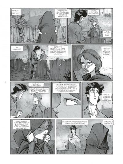 Page 6 Sortilèges Tomes 1 et 2 (N&B) + ex-libris numéroté et signé !