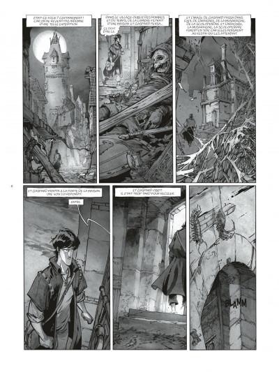 Page 8 Sortilèges Tomes 1 et 2 (N&B) + ex-libris numéroté et signé !