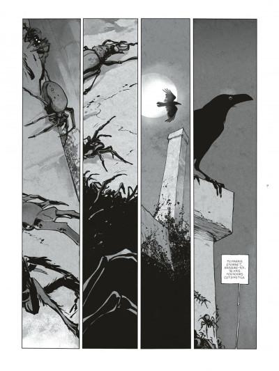 Page 9 Sortilèges Tomes 1 et 2 (N&B) + ex-libris numéroté et signé !