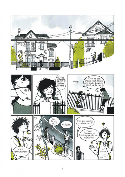 Page 8 Un petit goût de noisette tome 1