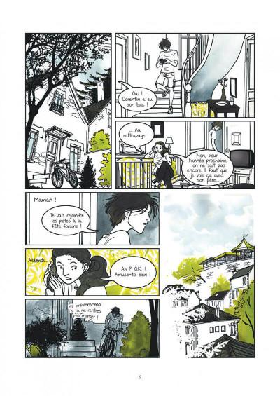Page 9 Un petit goût de noisette tome 1