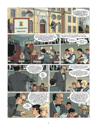 Page 5 XIII tome 23 - Le Message Du Martyr