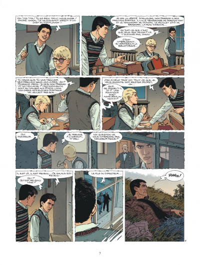 Page 7 XIII tome 23 - Le Message Du Martyr