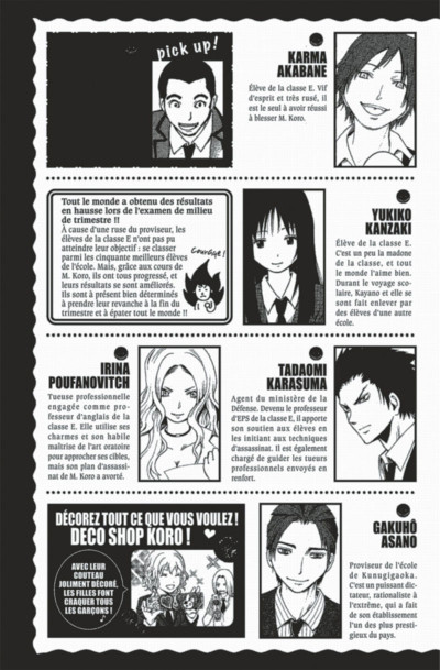 Page 5 Assassination Classroom tome 3