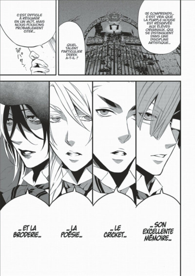 Page 7 black butler tome 16