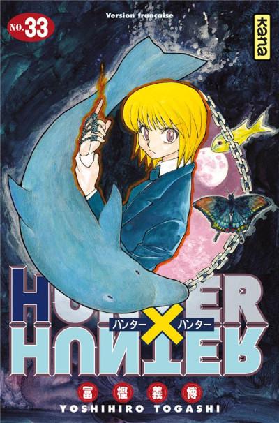 Couverture Hunter X Hunter tome 33