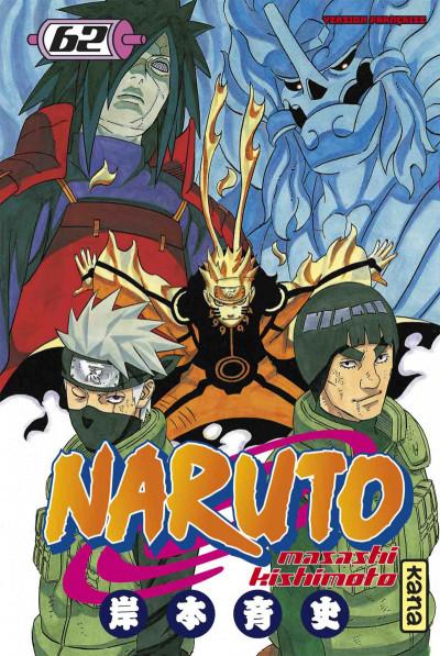 Couverture Naruto tome 62