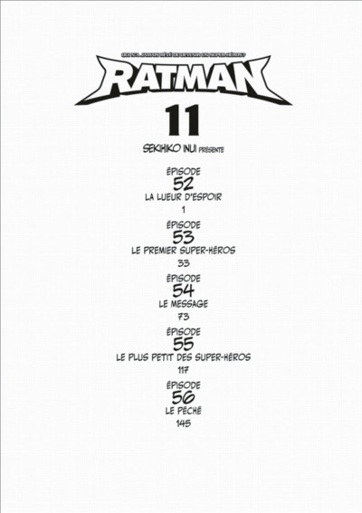 Page 4 ratman tome 11