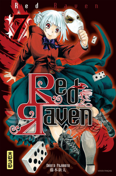 Couverture red raven tome 7