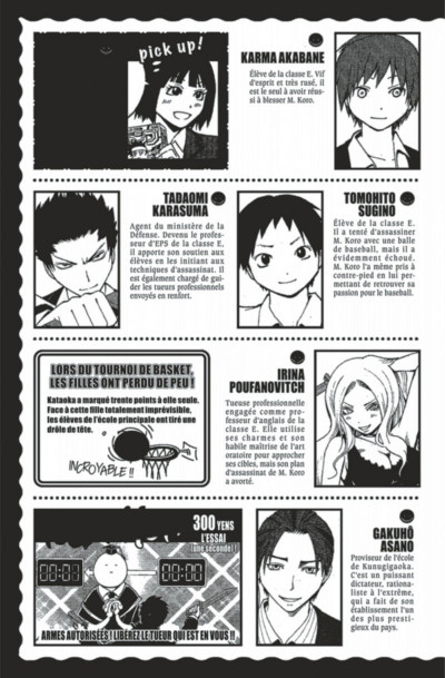 Page 5 assassination classroom tome 5