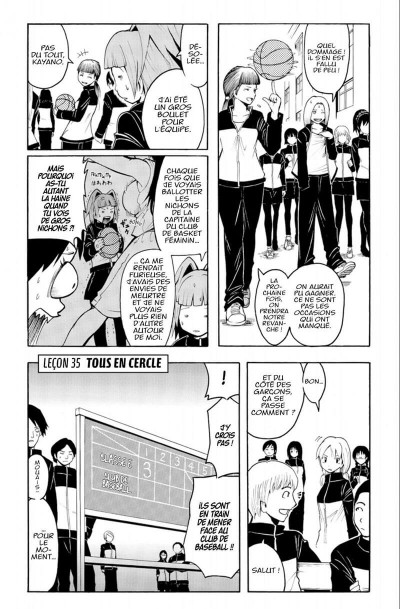 Page 7 assassination classroom tome 5
