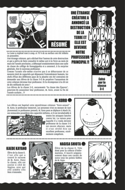 Page 4 Assassination Classroom Tome 6