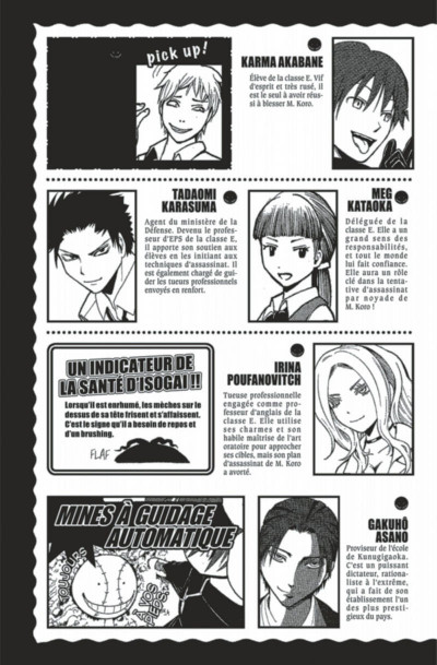 Page 5 Assassination Classroom Tome 6