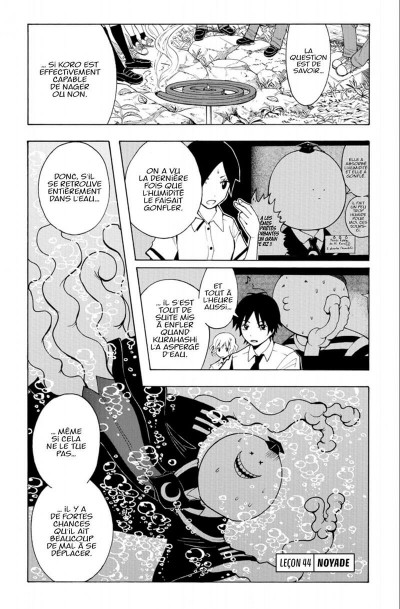 Page 7 Assassination Classroom Tome 6