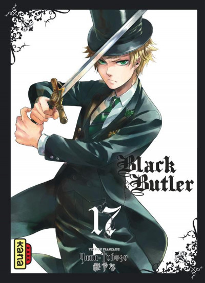 Couverture black butler tome 17