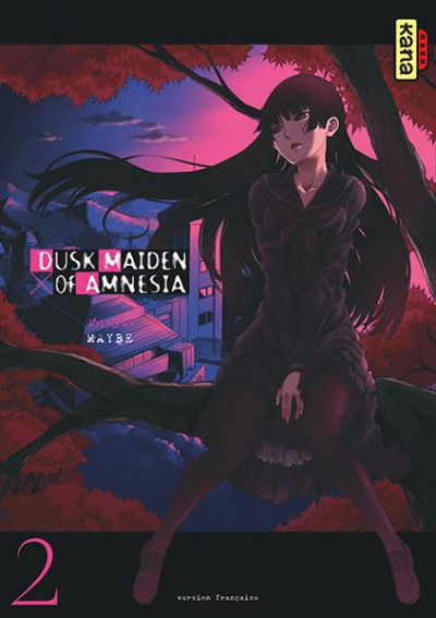 Couverture dusk maiden of amnesia tome 2