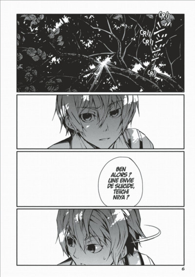 Page 6 dusk maiden of amnesia tome 3