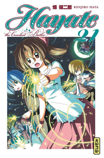 Couverture hayate the combat butler tome 21