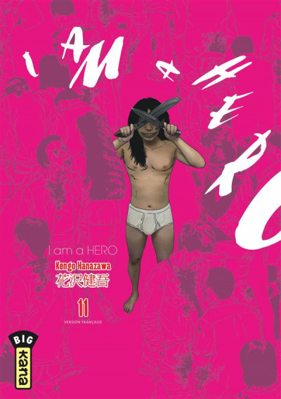 Couverture I am a hero tome 11