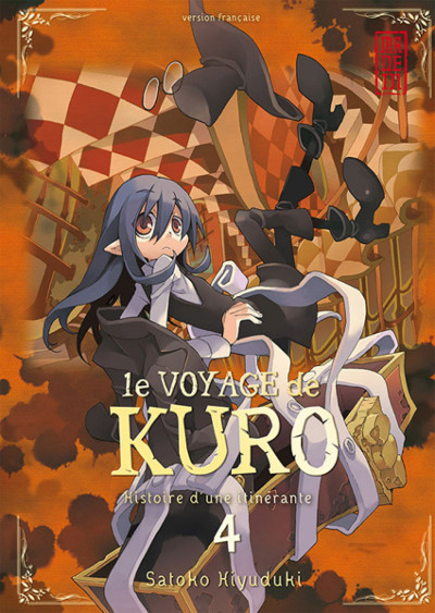 Couverture le voyage de Kuro tome 4