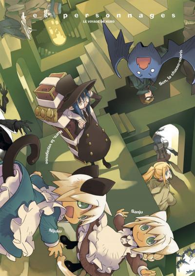 Page 2 le voyage de Kuro tome 4