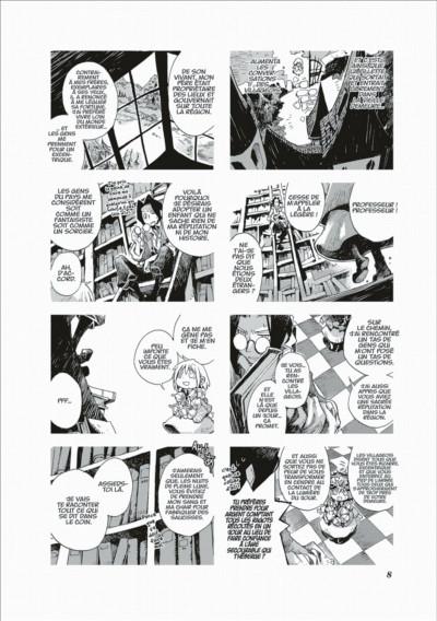 Page 8 le voyage de Kuro tome 4