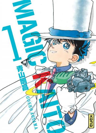 Couverture magic Kaito tome 1