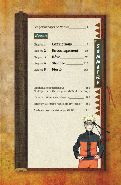 Page 6 Naruto Les liens - tome 1