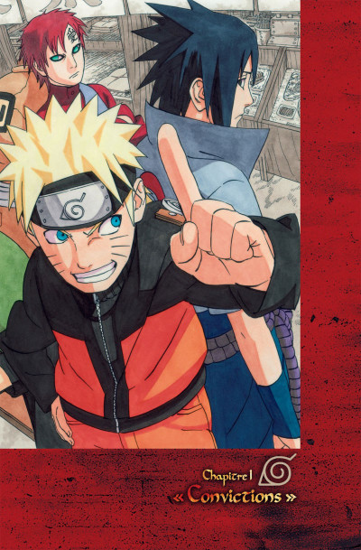 Page 8 Naruto Les liens - tome 1