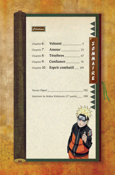 Page 4 Naruto les liens - tome 2