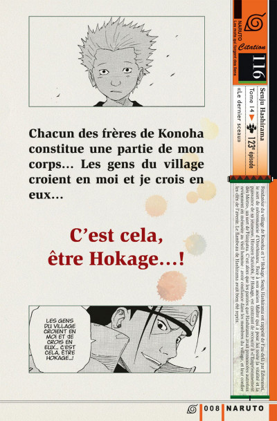 Page 8 Naruto les liens - tome 2